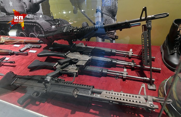 С границы едем в музей войны, где представлено оружие корейской войны 1950-53 года.