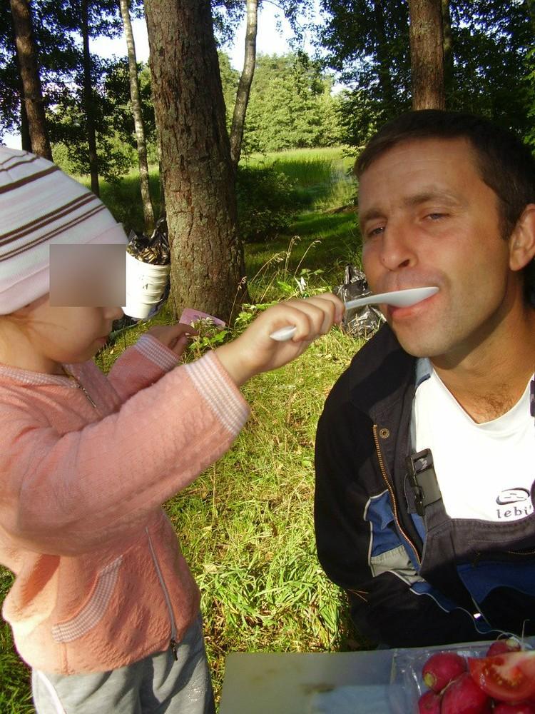 Семья Дмитрия часто бывает на природе