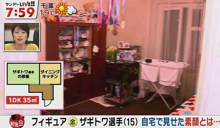 В столице 15-летняя спортсменка снимает квартиру вместе с бабушкой.