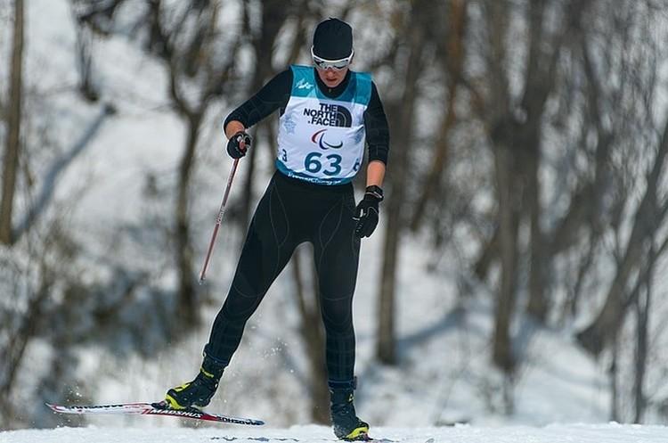 Серебряный призер Паралимпиады-2018 Анна Миленина. Фото: ТАСС/ Thomas Lovelock/IOC