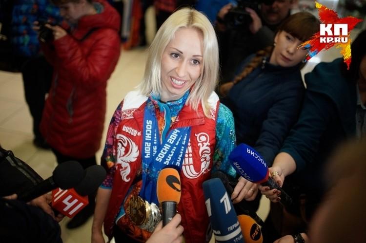 В родной Свердловской области Михалина - настоящая звезда