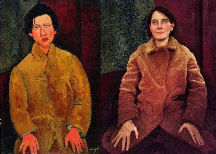 "Амадео Модильяни ""Портрет Хаима Сутина"". Фото: музей Фаберже."