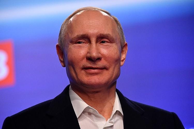 В 2018 году 56 миллионов россиян доверили Путину страну