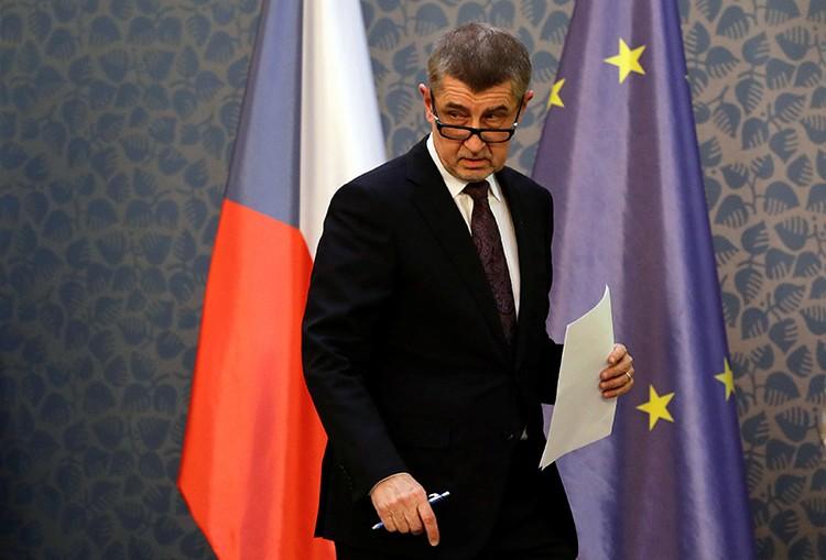 премьер Чехии Андрей Бабиш подчеркнул, что речь идет якобы о разведчиках