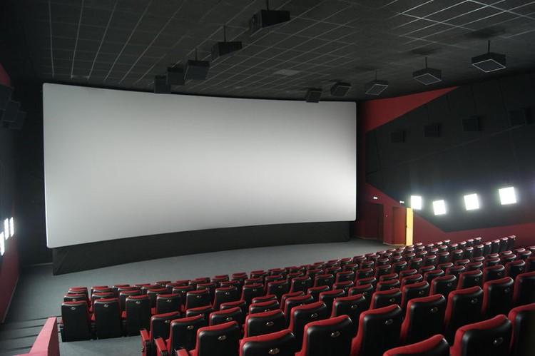 Зал кинотеатра в «Зимней вишне»