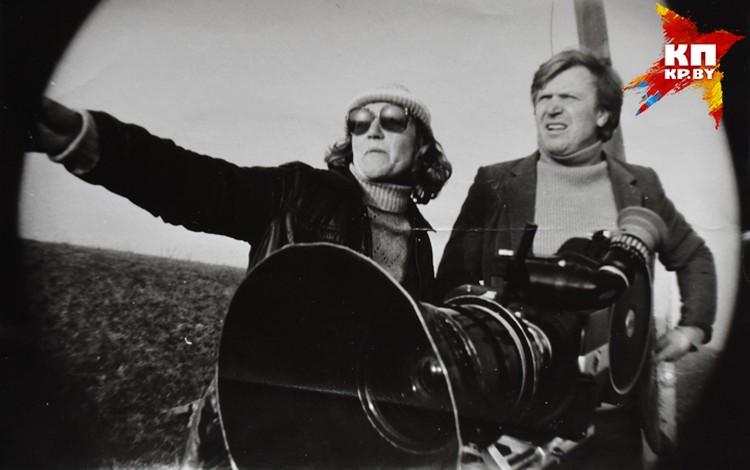 """""""Черный замок Ольшанский"""" был первым совместным фильмом Логиновой и Пташука. Фото: архив Татьяны Логиновой"""