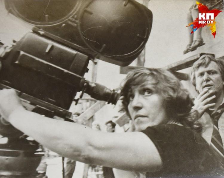 Татьяна Логинова сняла знаковые белорусские фильмы. Фото: архив Татьяны Логиновой
