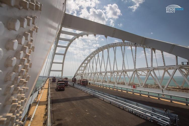 """Фото: инфоцентр """"Крымский мост""""."""