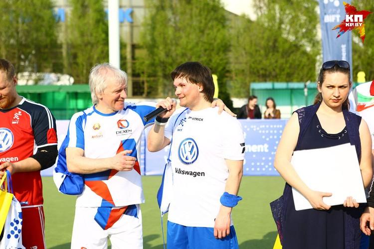 Альберт Скороход и Юрий Ардынов.