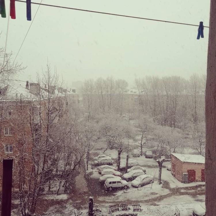 Снегом засыпало все районы Нижнего Тагила