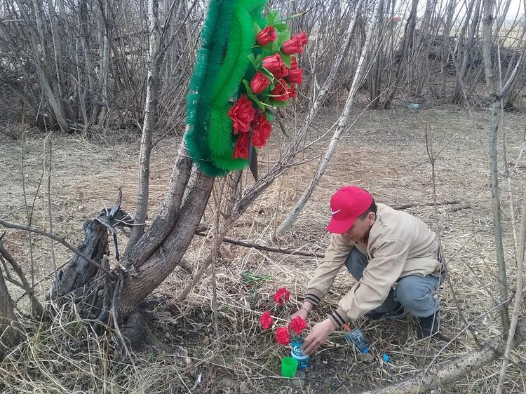 Тело Насти Боргояковой нашли на Аскизском тракте, в 80 километрах от Абакана. Убийца спрятал ее неподалеку от дороги, за тальником