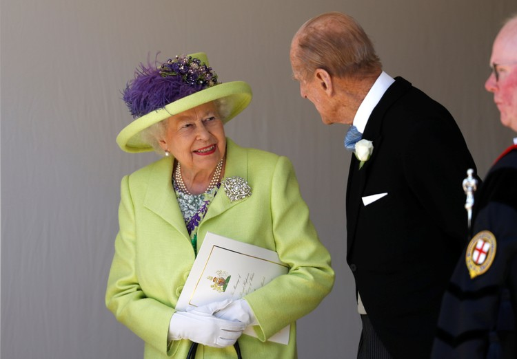 Королева Елизавета II с супругом Филиппом, герцогом Эдинбургским