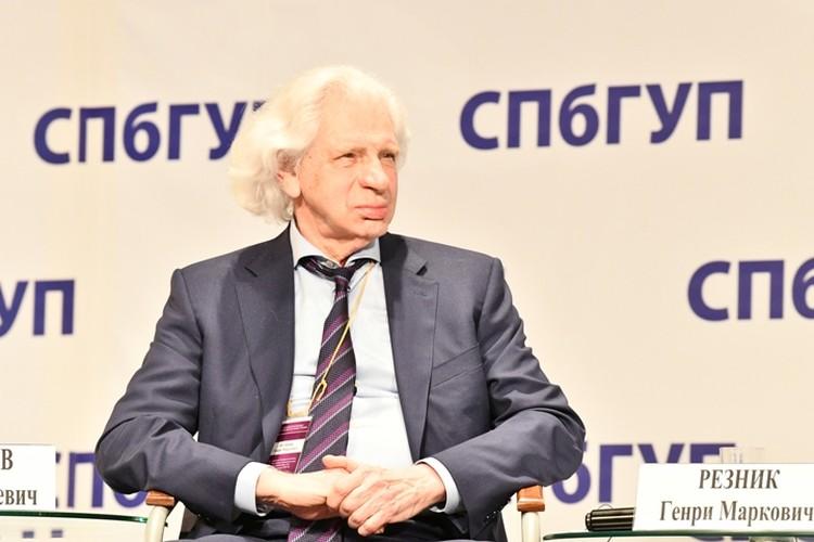 Участник Чтений адвокат Генри Резник
