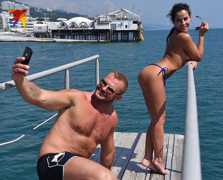 Елена Беркова с мужем Андреем Стояновым.