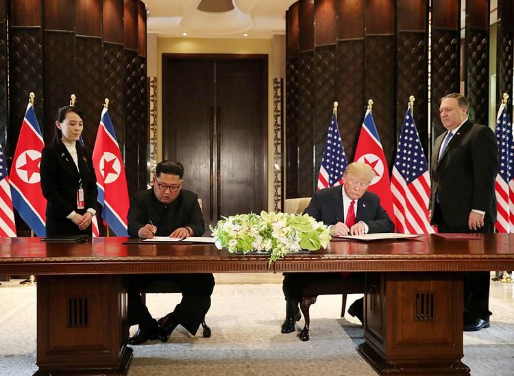 Дональд Трамп заключил с Ким Чен Ыном соглашение
