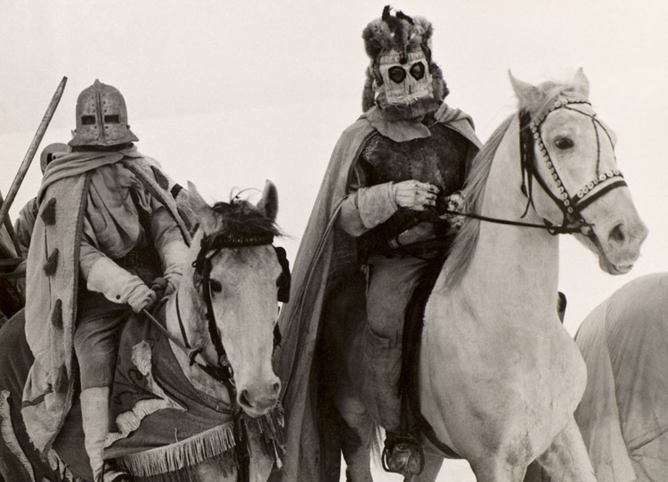 """""""Дикая охота короля Стаха"""" стала, пожалуй, самым знаменитым белорусским кинотриллером советского времени. Фото: Архив"""