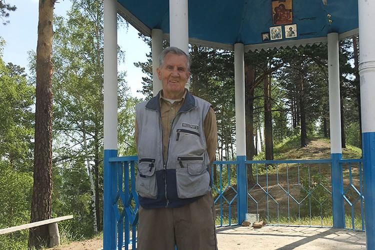 Заслуженный спасатель России Юрий Голиус