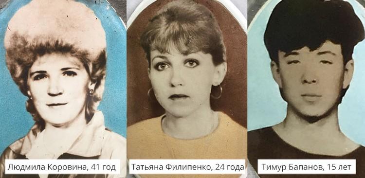 Группа туристов из Казахстана. Фото пересняты с могильных памятников.