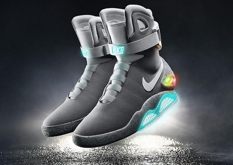 Кроссовки с самозатягивающимися шнурками Nike Mag. Фото: Nike