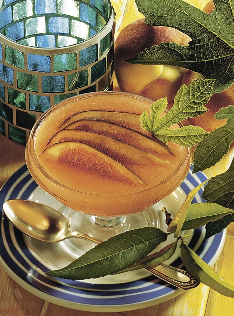 Персиковый сорбет Фото: globallookpress.com, фотобанк Лори