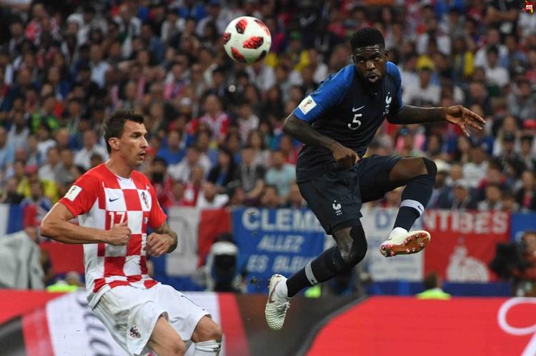 Сборная Хорватии была лучше в первом тайме