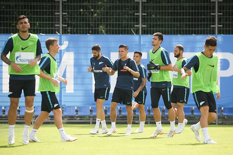 27 июля состоялась открытая тренировка «Зенита».