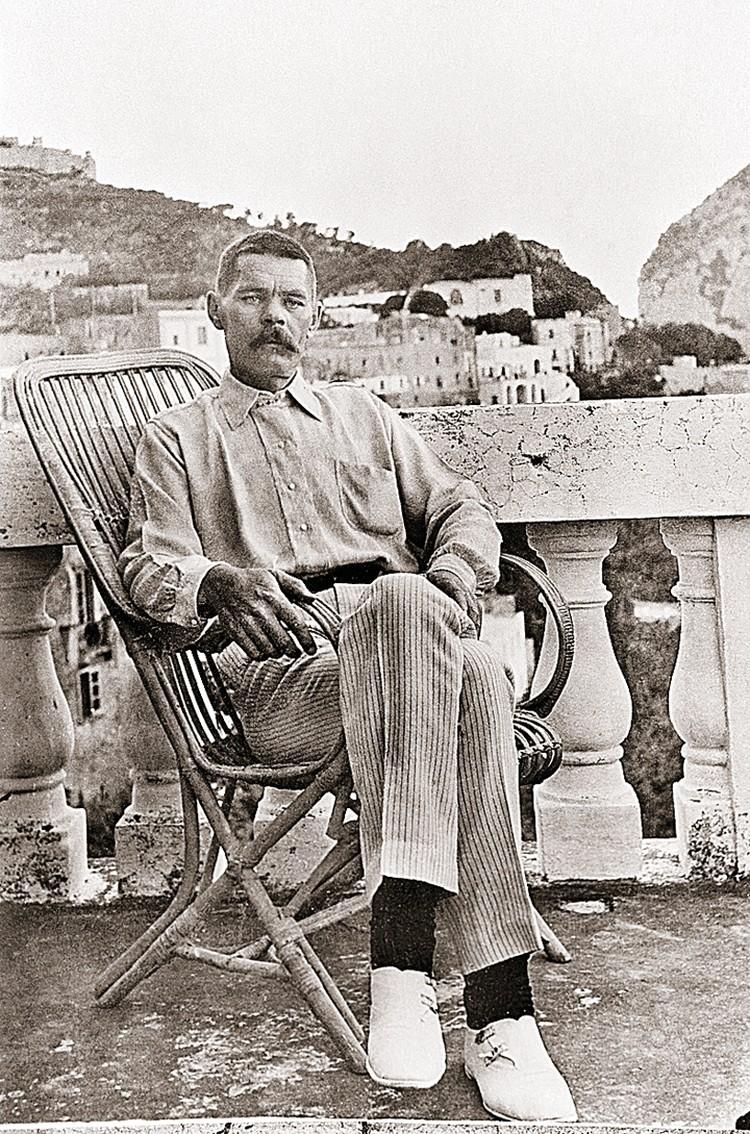 Алексей Максимович в Италии. 1910 год. Фото: ITAR-TASS