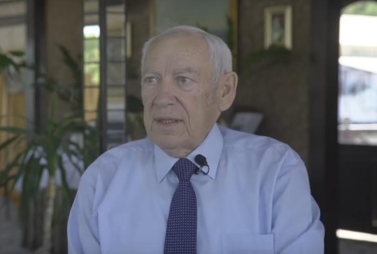 Виктор Бураков во время последнего интервью признался, что у него сохранились письма Чикатило. Фото: стоп-кадр видео