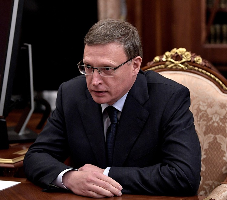 Врио губернатора Омской области Александр Бурков