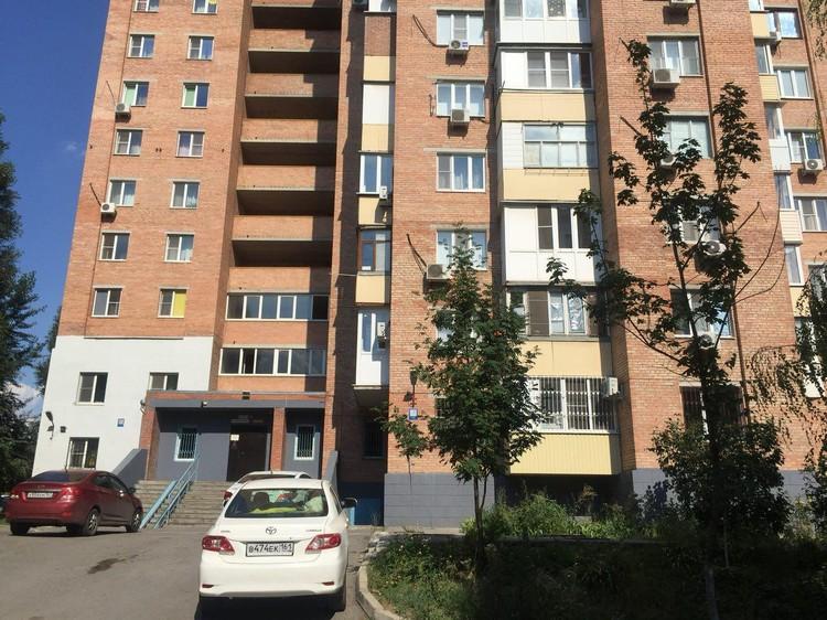 В этом доме в Ростове-на-Дону и жил Ходыч