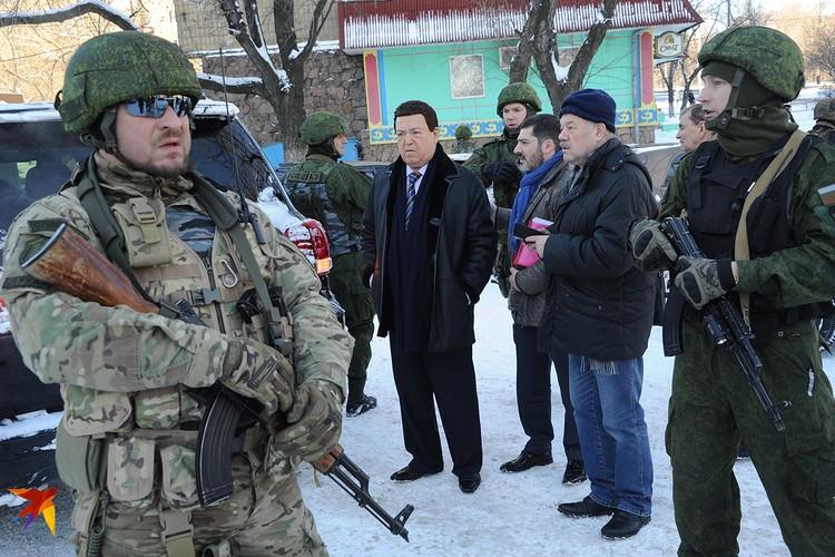 Когда разразилась война на востоке Украины, Кобзон сразу же поддержал ополчение Донецкой республики