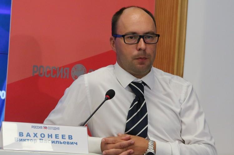 Заместитель директора Черноморского центра подводных исследований Виктор Вахонеев.