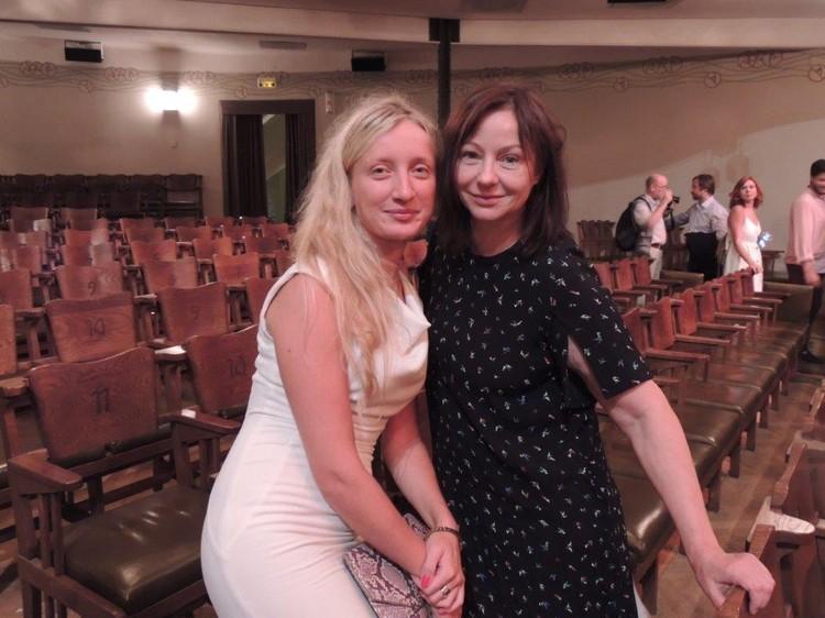 Евгения Добровольская и Ольга Воронина