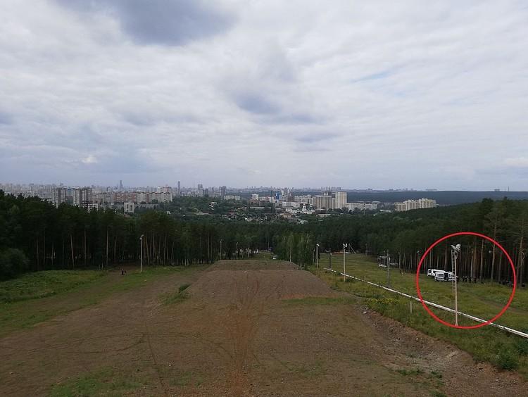 Место, где произошло убийство. Фото: Евгений Черемных