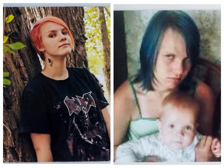 Справа на фото - Даша еще страдает газовой зависимостью, слева - уже нет. Разница на лицо, говорит ее мать, девушка стала лучше выглядеть