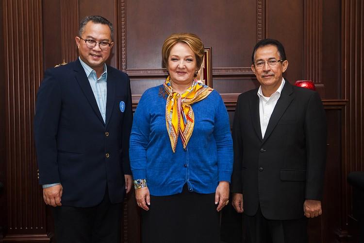 Академию впервые посетили ректоры университетов Индонезии Ариф Сатриа и Муххамад Анис. Фото: timacad.ru