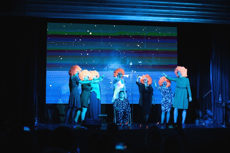 Спектакль не оставил равнодушными зрителей Фото: Анна Донник