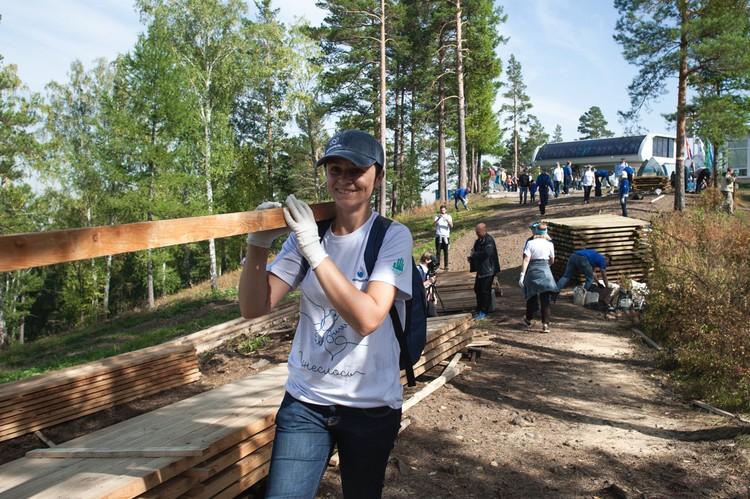 """Марафон """"ПонесЛось"""" позволяет волонтерам заниматься тем, что им действительно по сердцу Фото: Анна Донник"""