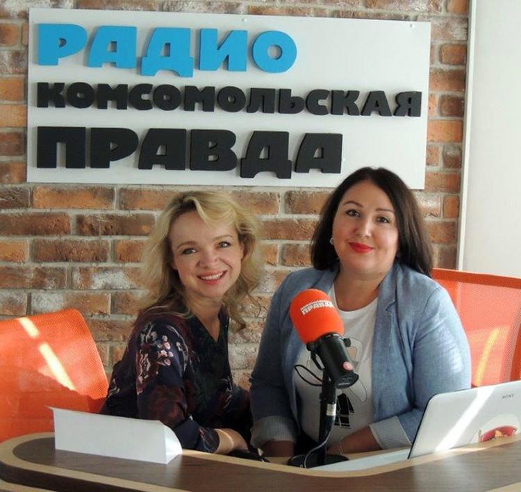 """Виталина с адвокатом Ларисой Широковой на радио """"Комсомольская правда"""""""