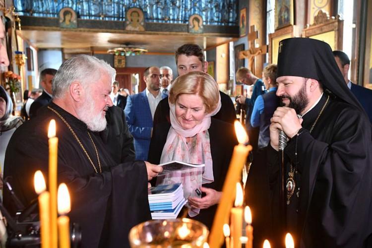 Гости посетили Кафедральный собор Георгия Победоносца и Осетинскую церковь
