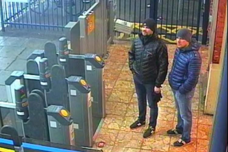"""Россияне """"Петров и Боширов"""" в Солсбери."""