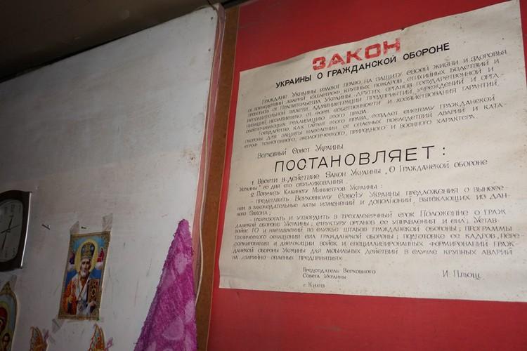 Положения этого закона звучат тут, в убежище на Трудовских, с особенным цинизмом.
