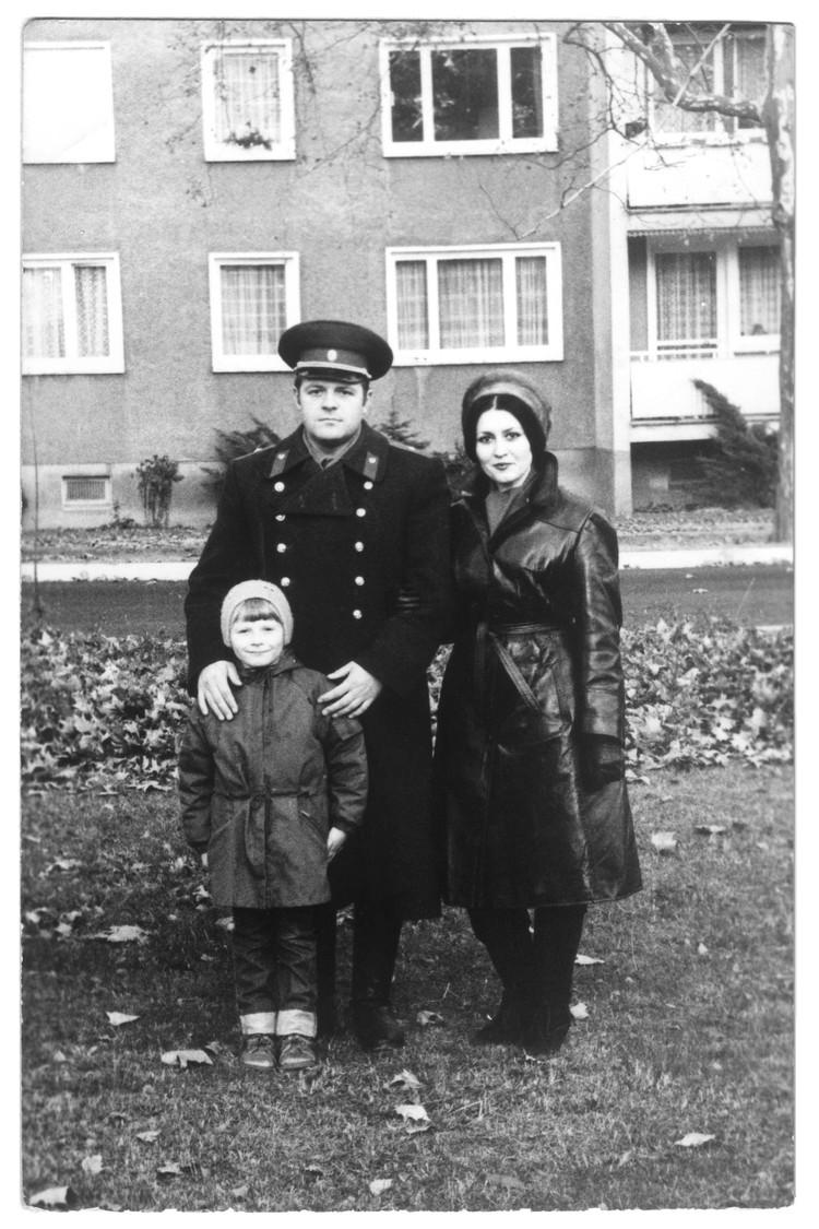 Маленький Николай Басков с родителями