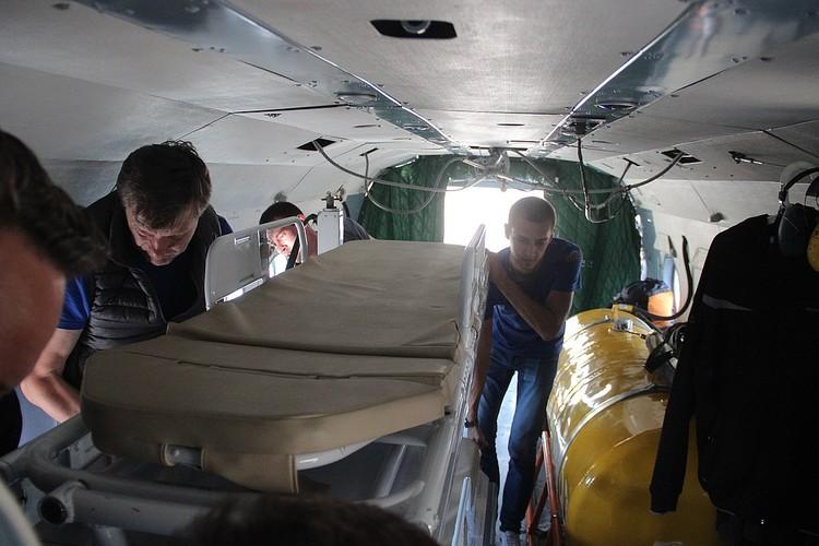 Мобильный госпиталь развернут в Керчи. Фото: ЮРПСО