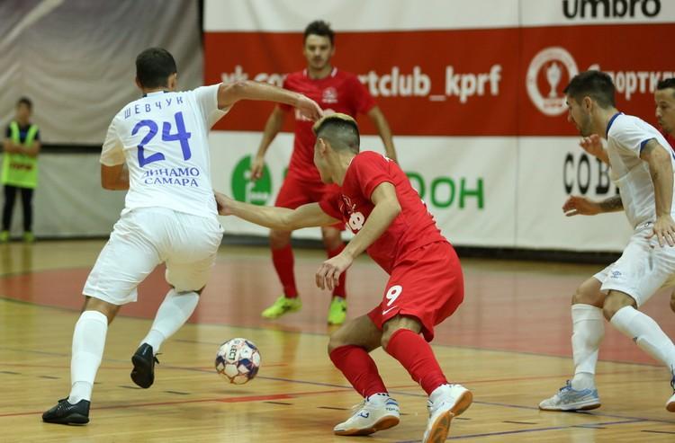 В Суперлиге самарское «Динамо» играет с лучшими командами страны. Фото: МФК «Динамо» Самара