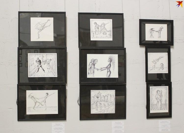 По признанию Эдмунда Мечиславовича, графика в последнее время его увлекает больше, чем рисование маслом.