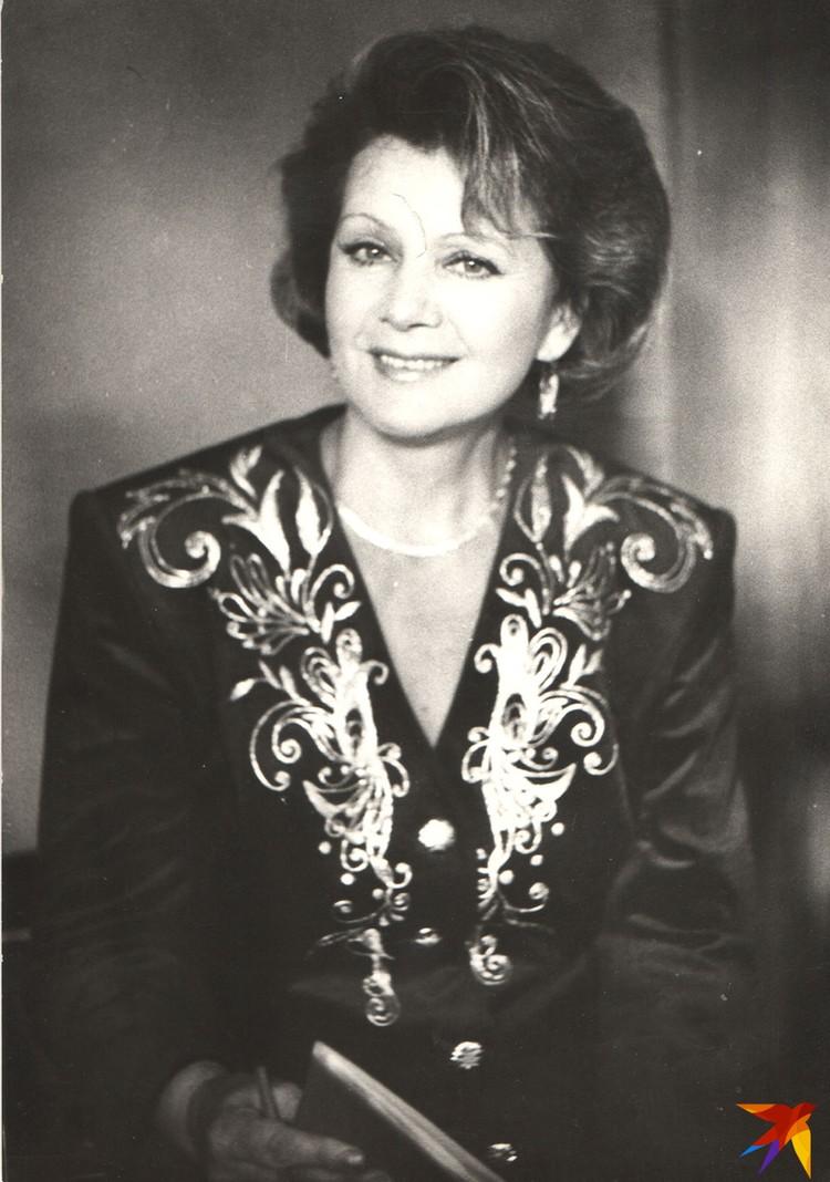 В 1980-1990-х Зинаида Бондаренко была не только диктором, но и ведущей многих телепередач. Фото: Личный архив