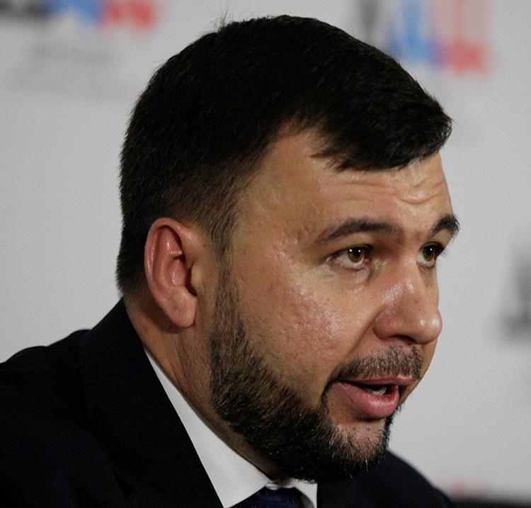 Избранный глава ДНР Денис Пушилин