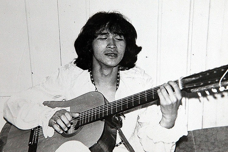 Виктор Цой в начале 80-х. ФОТО из семейного архива музыканта