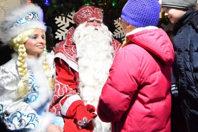 Детвору приглашают в новогоднюю сказку.